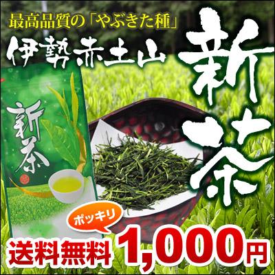 伊勢赤土山新茶